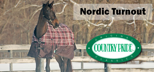 Nordic Waterproof Turnout Horse Blankets