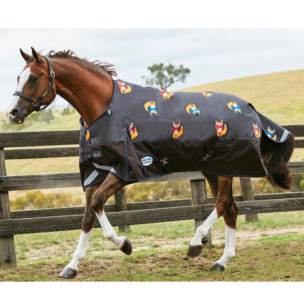 Item 80131W Comfi-tec plus fox print turnout blanket