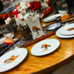 Fox Themed Dinnerware