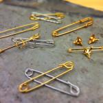 Finishing Tough Stock Tie Pins