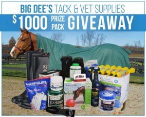 Big Dee's Tack and Vet - $1000 Giveaway