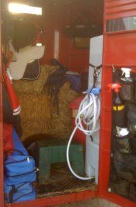 Horse trailer organization