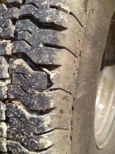 Flat Horse Trailer Tire