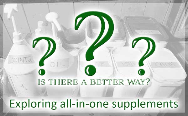All in one horse supplements