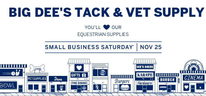 Small Business Saturday – November 25th!