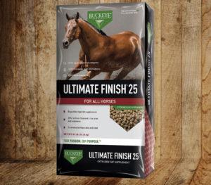 Buckeye Ultimate Finsh 25 Horse Feed