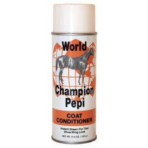 World Champion Pepi for a brilliant shine!