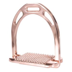HKM Rose Gold English Stirrups